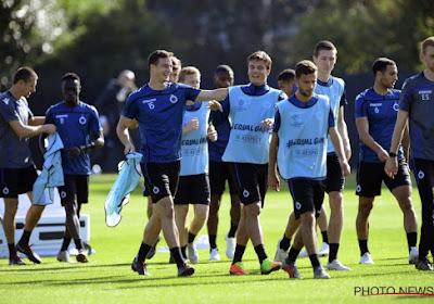 Le T2 Rudi Cossey donne le plan de bataille du FC Bruges contre Dortmund