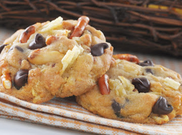 Kitchen Sink Sweet & Salty Cookies Recipe