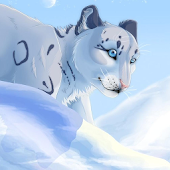 Snow Leopard Anime Wallpapers