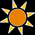 Solar azimuth icon