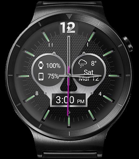 Titanium Brave HD WatchFace Widget Live Wallpaper 4.8.1 screenshots 15