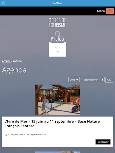 Fréjus Tourism- screenshot thumbnail