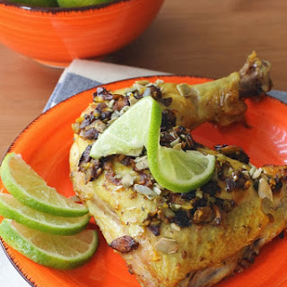 Pumpkin Seed and Lime Chicken