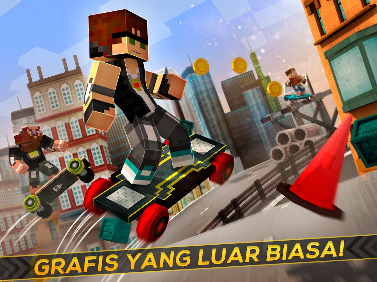 Skate Board Kota Lucu Balap Apl Android Di Google Play