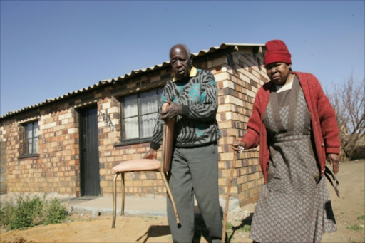 Elizabeth Senyarelo 's house in Emdeni ,soweto. The house was sold by unknown  criminal to Mafikizolo's member . Pic: ANTONIO MUCHAVE . 23/07/2009. © Sowetan.