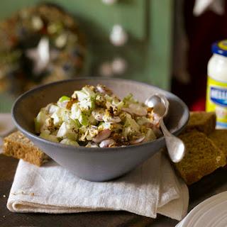 Salade Met Appel En Walnoten