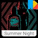 Summer Night Xperia™ Theme icon
