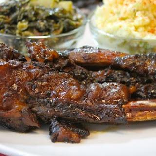 Slow Cooked Beef Back Ribs.