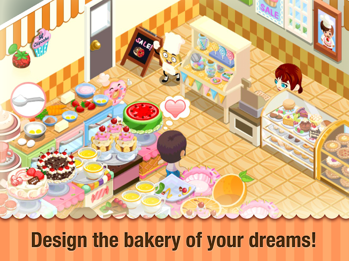 Bakery Story Donuts amp Dragons Android Apps On Google Play