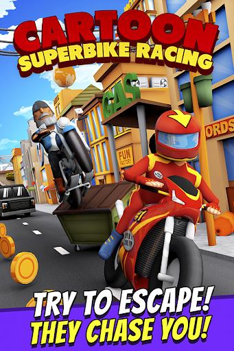 Cartoon Superbike Racing