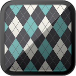HD PATTERNS: Argyle - Seagreen Wallpapers Icon