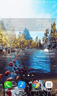 Lake Flowers Live Wallpaper - náhled