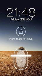 Fingerprint LockScreen Prank APK screenshot thumbnail 2