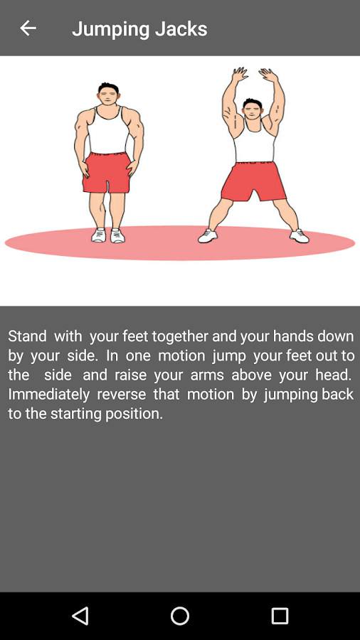 30 Day Cardio Exercise workout- screenshot