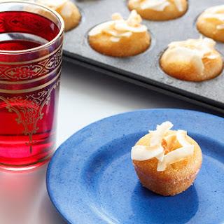 Coconut And Honey Semolina Cakes.