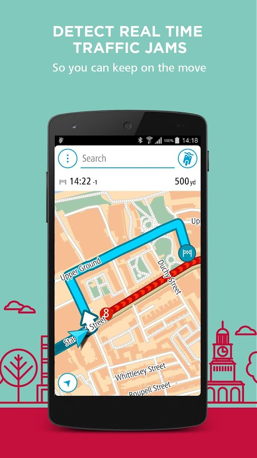 TomTom VIO- screenshot