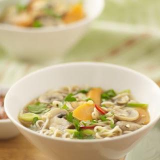 Mixed Veg and Noodle Soup