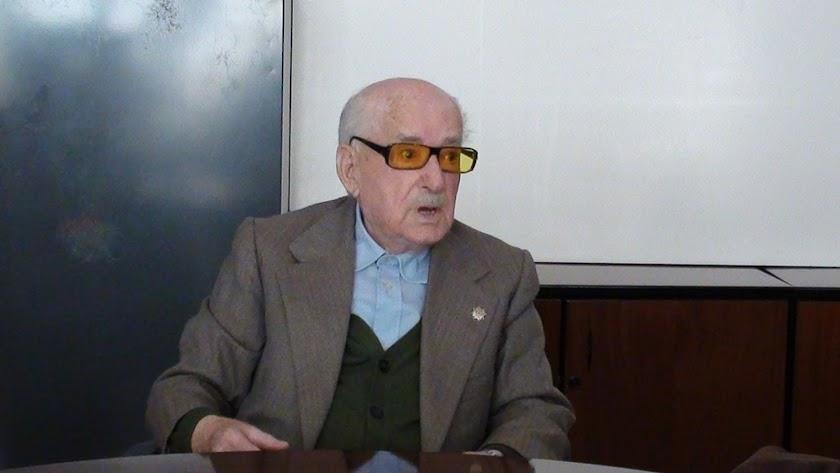 Antonio Rodríguez vivió la Desbandá, perdió de vista a su madre y hermana antes de llegar a La Rábita.