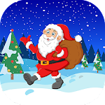Jumping Santa - Christmas jump game icon
