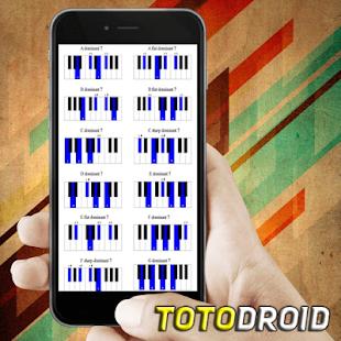 Snadné klavírní akordy - náhled