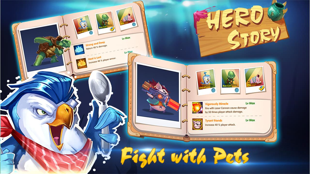 Hero Story- screenshot