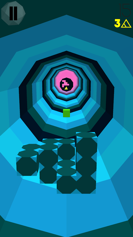 hedra scape (a.k.a. Rotating Blocky Mass Thing)- screenshot