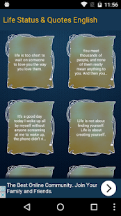 Life Status Quotes English Apps On Google Play