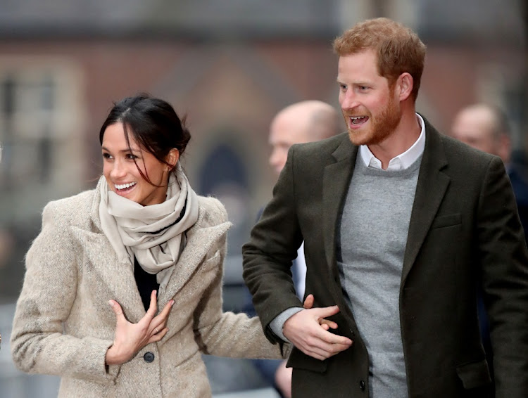 Meghan Markle and Prince Harry are expecting their first child around April.