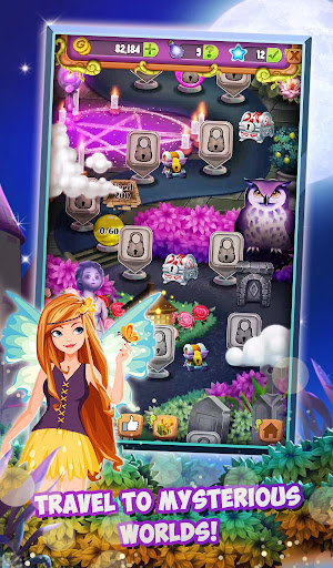Mahjong Solitaire: Moonlight Magic modavailable screenshots 8