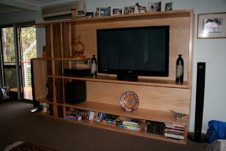Photo: Shep's Wall unit -sofa view