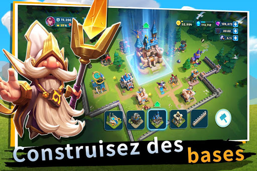 Castle Clash: Nouvelle aube  captures d'u00e9cran 1