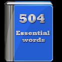 504 لغت ضروری زبان icon