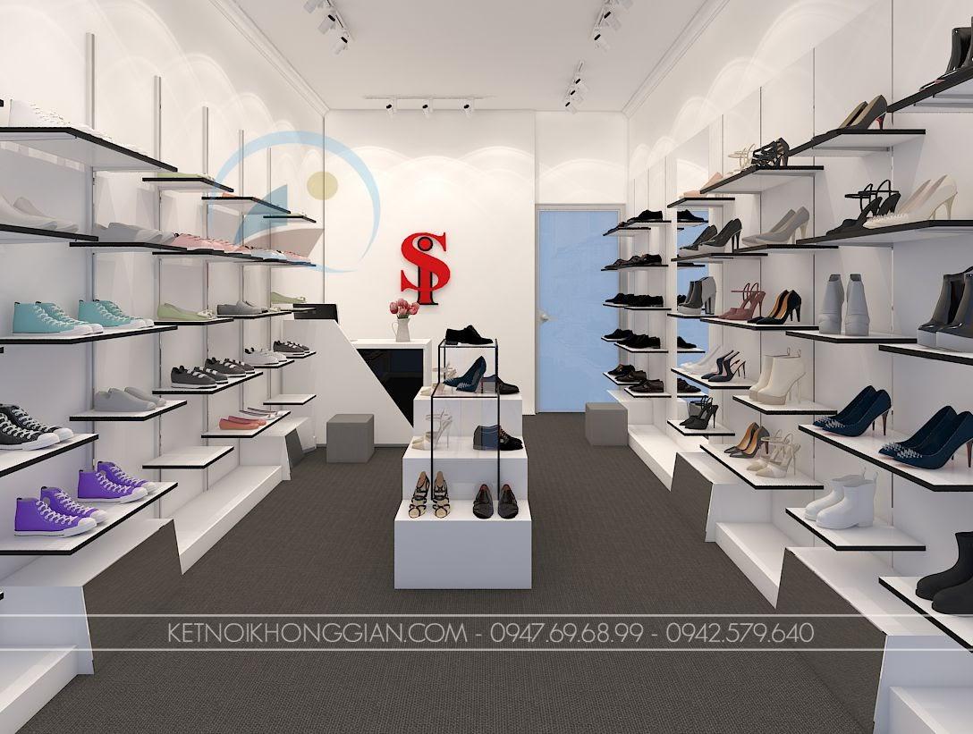 thiết kế shop giày dép Si 3