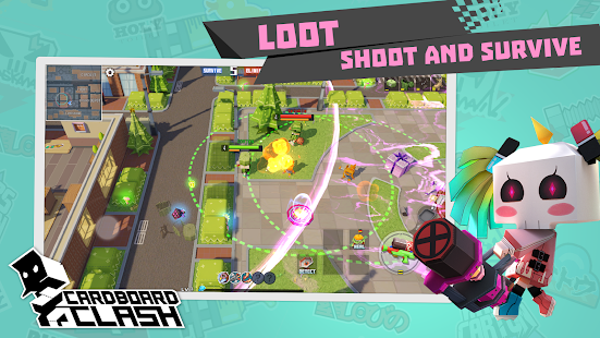 Cardboard Clash Screenshot