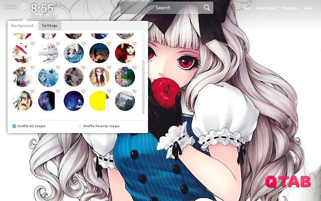 Anime Girl Wallpapers Anime Girl New Tab