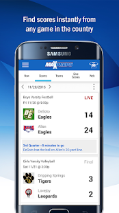 MaxPreps- screenshot thumbnail