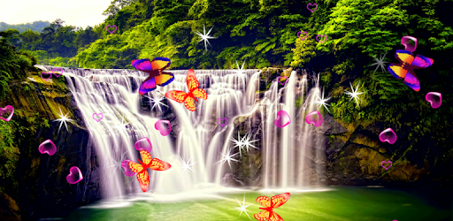 Waterfall Live Wallpaper - Apps on