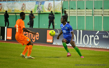 Photo: Kei Kamara   [Leone Stars v Ivory Coast, 6 September 2014 (Pic © Darren McKinstry / www.johnnymckinstry.com)]