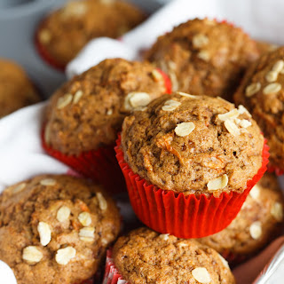 Spiced Orange and Carrot Whole Wheat Muffins Recipe