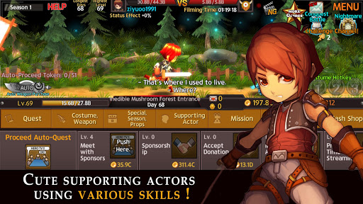 Hero TV : Idle RPG screenshot 2