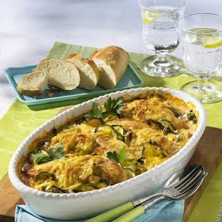 Chicken and Vegetable Casserole.
