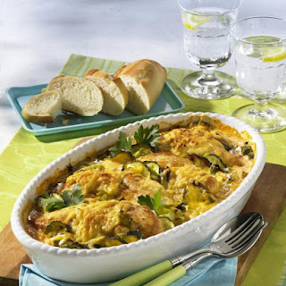 Chicken and Vegetable Casserole.
