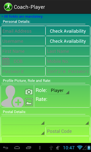 Coach-Player Demo