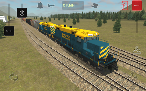 Train and rail yard simulator 9