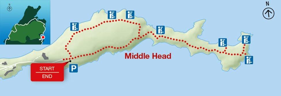 Middle Head, Park Narodowy Cape Breton Highlands
