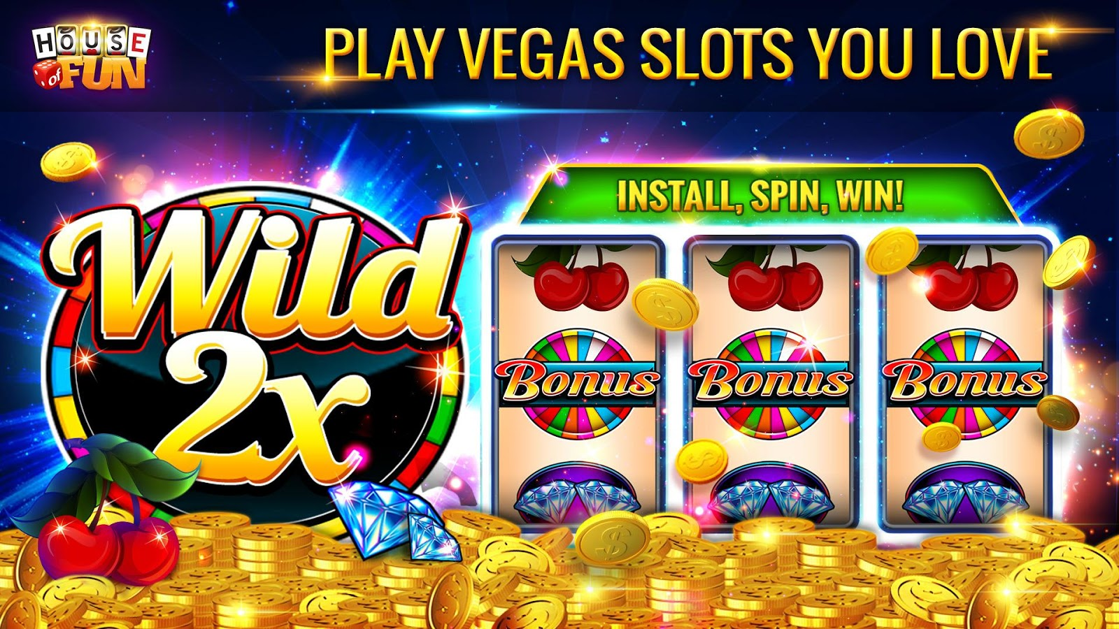 free house of fun casino games