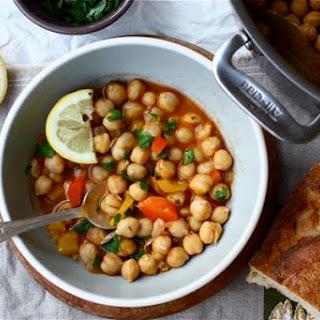 Harissa Chickpea Stew