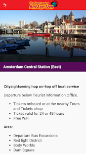 City Sightseeing Amsterdam App - náhled