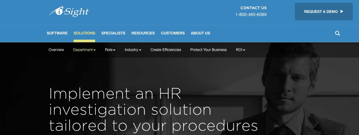 i-Sight HR Solution app