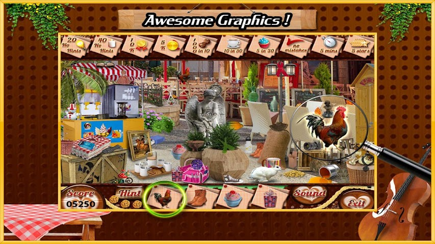 android Restaurant Find Hidden Object Screenshot 0